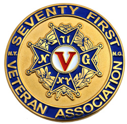 71st Vets Coin, back